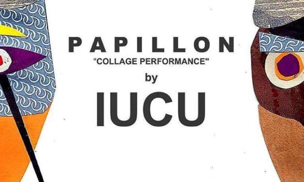 IUCU: papillon collage performance x Tolu [intervista + live report]