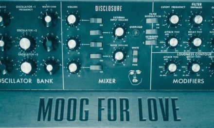 Disclosure surprise. Moog For Love EP