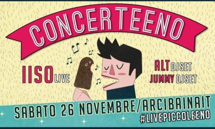 """""""Concerteeno"""" è la musica live da gustare. Si parte con gli IISO"""