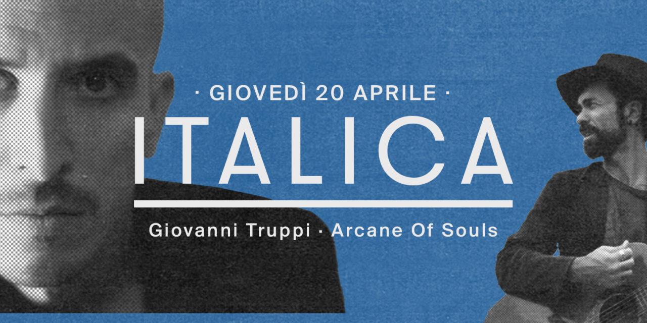 La playlist di Giovanni Truppi X ITALICA   BASE Milano