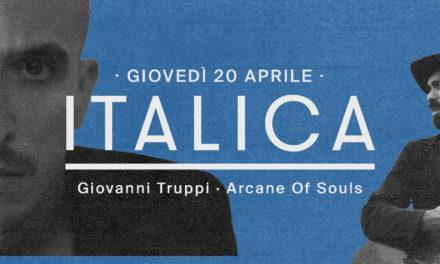 La playlist di Giovanni Truppi X ITALICA | BASE Milano