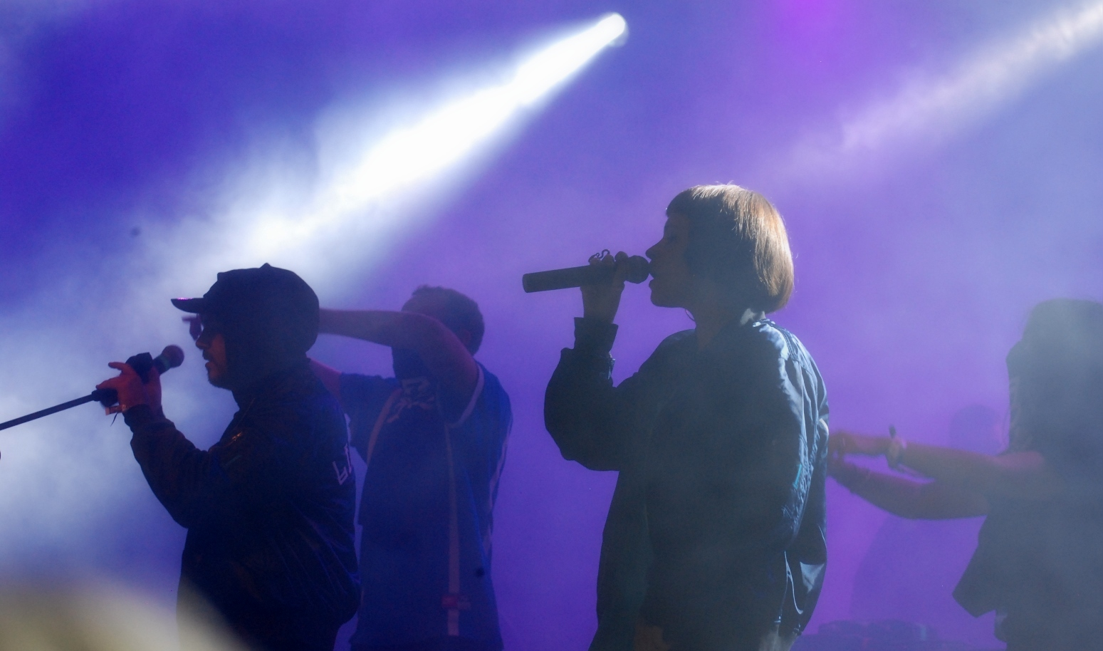 Gli artisti sul palco del Mi Ami Festival