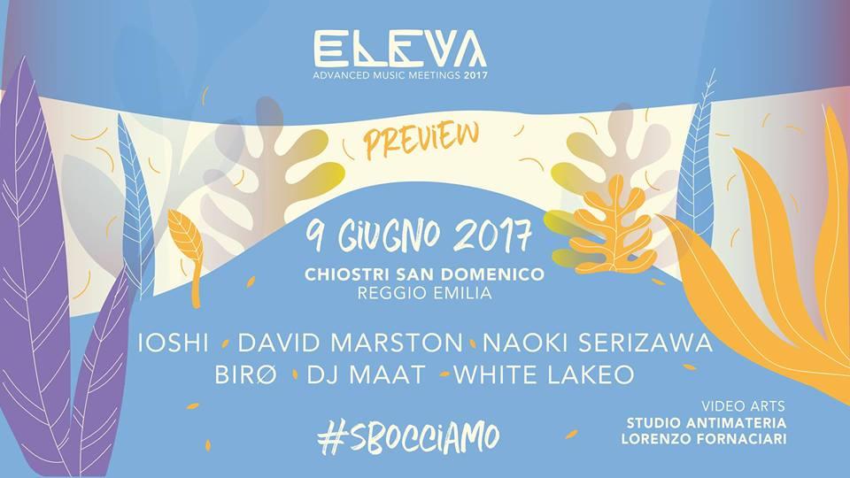 ELEVA PREVIEW: Eleva ri-parte, sboccia la quinta edizione
