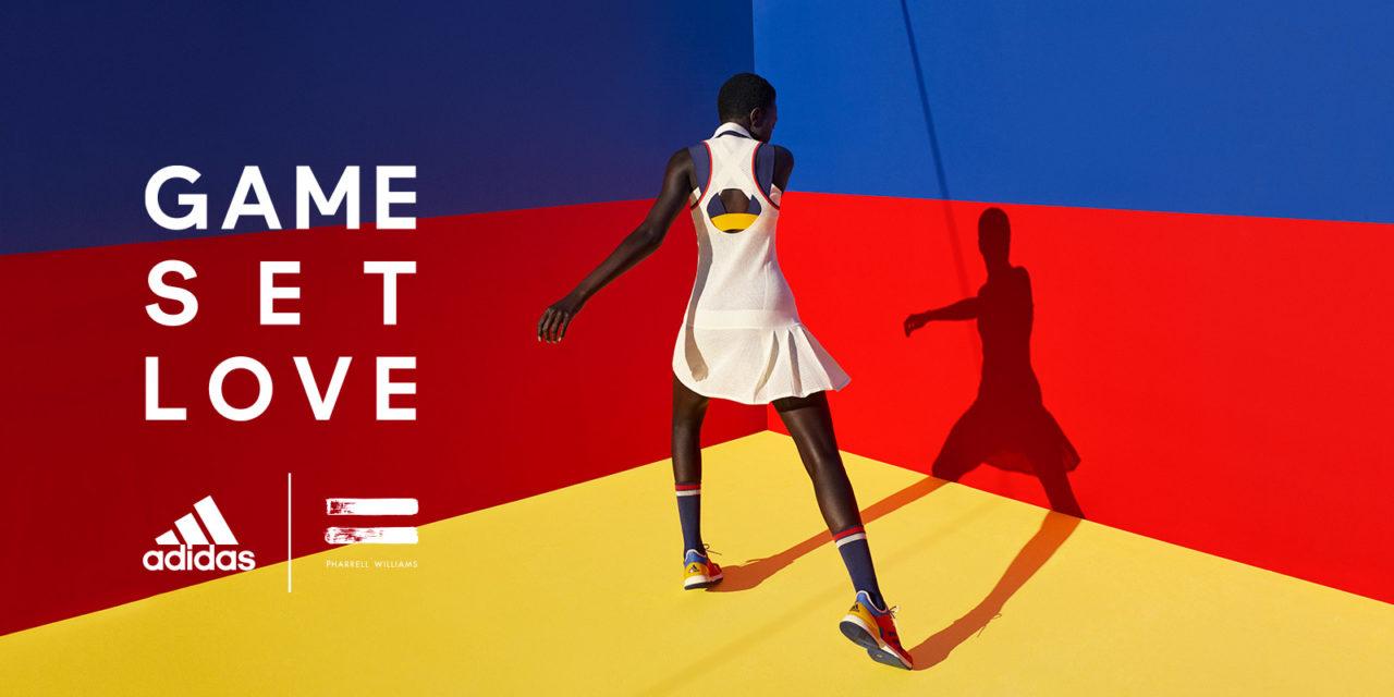 Pharrell Williams agli US OPEN: sua la collezione tennis Adidas Originals