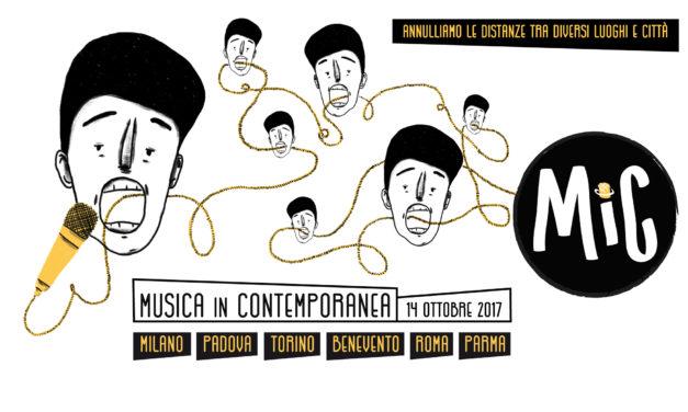 MiC Festival: il 14 Ottobre arriva il Festival in contemporanea in più città d'Italia