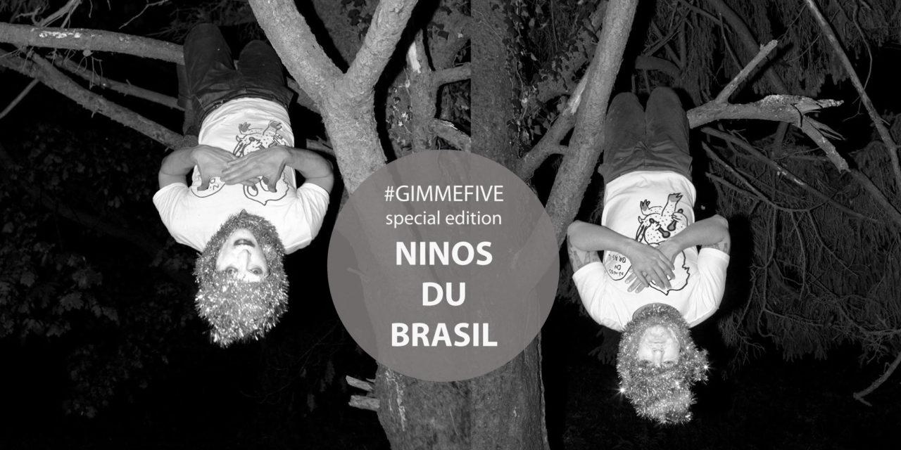 GIMME FIVE: i 5 migliori brani del 2017 per Ninos Du Brasil