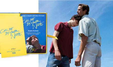 Call me by your name: Yoox propone un'edizione limitata e numerata del libro