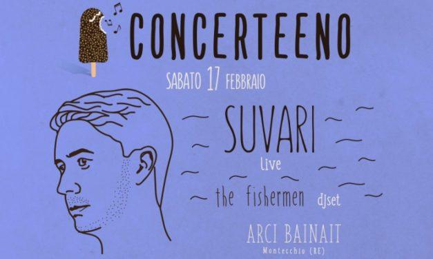 Concerteeno: dritti al cuore con il live di SUVARI