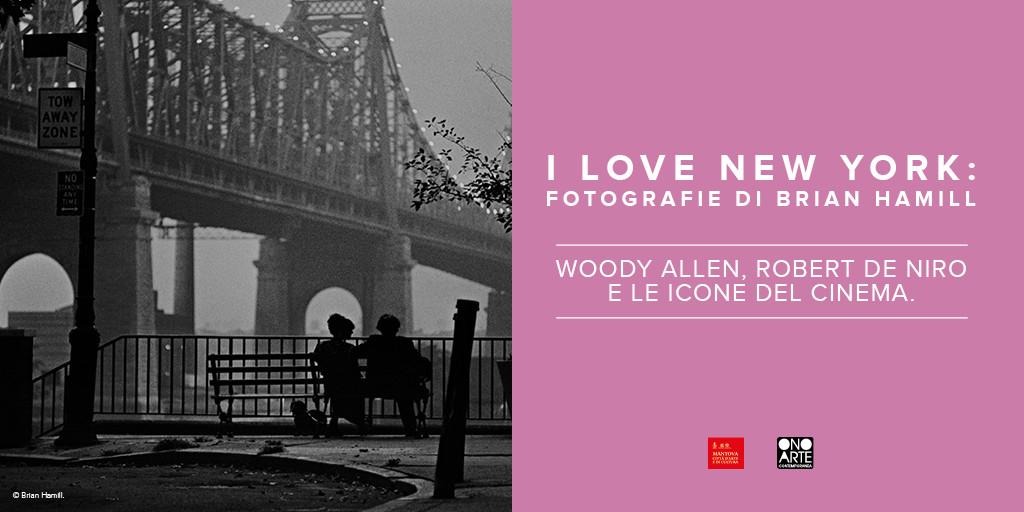 A Mantova Woody Allen e le icone del cinema fotografate da Brian Hamill