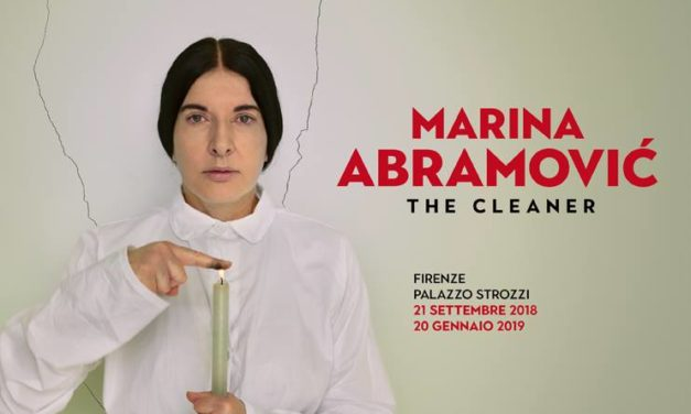 "Marina Abramović: Firenze ospita le opere e le reperformance ""The Cleaner"""