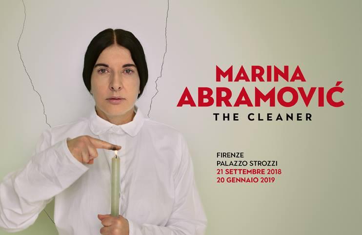 """Marina Abramović: Firenze ospita le opere e le reperformance """"The Cleaner"""""""