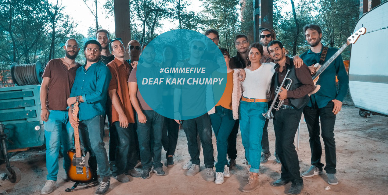 GIMME FIVE: 5 pezzi fondamentali per i Deaf Kaki Chumpy