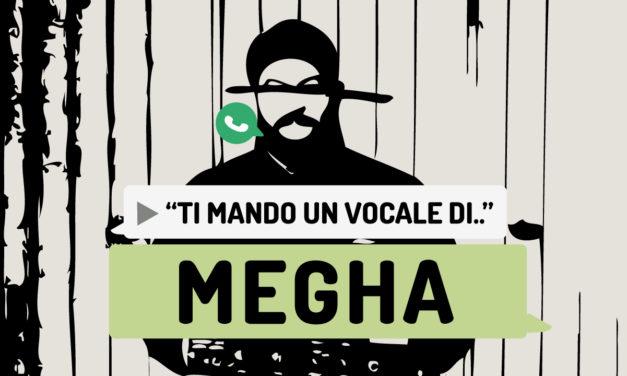 """Ti mando un vocale di.."" Megha"