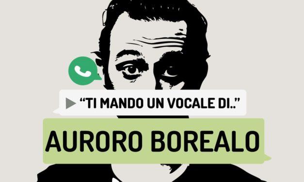 """""""Ti mando un vocale di.."""" Auroro Borealo"""