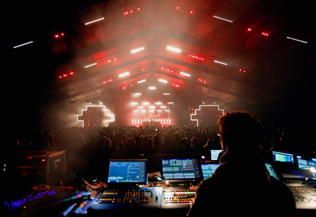 La Black Tent durante il Set di Kaytranada - Fonte: Flickr/flowfestival