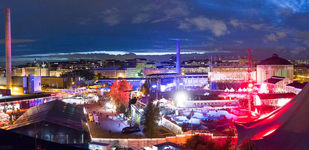 """""""Il Flow Festival chiude. Lassù a Nord c'è ancora un po' di luce, e non se ne andrà mai."""" - Fonte: Flickr/flowfestival"""