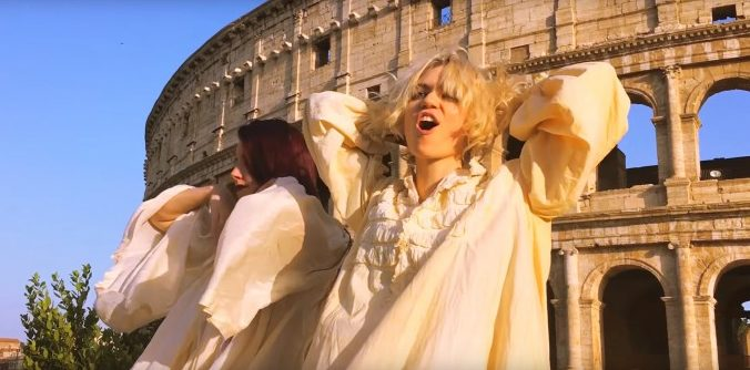 The Acid Reign Chronicles: a project by Grimes and Hana. 7 video, 2 girati in Italia