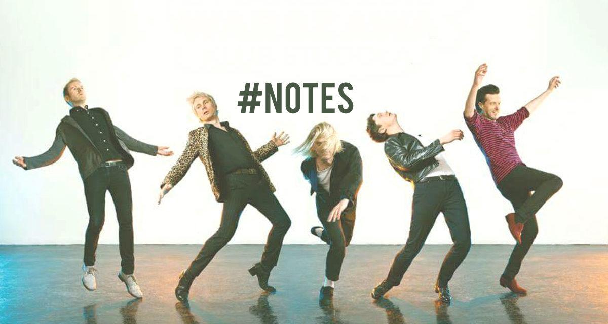 #NOTES: Live, eventi, mostre. I prossimi appuntamenti da non perdere.