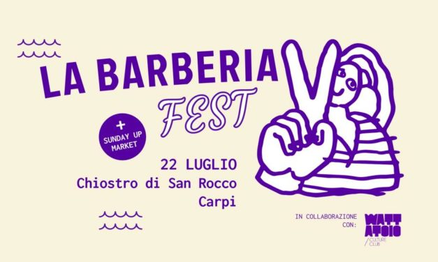 Fatti bello per il weekend con la Playlist de La Barberia Fest
