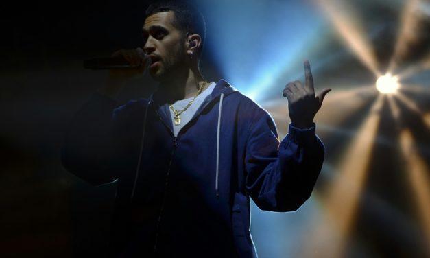 Mahmood: le foto del live del 25 Aprile a Parma