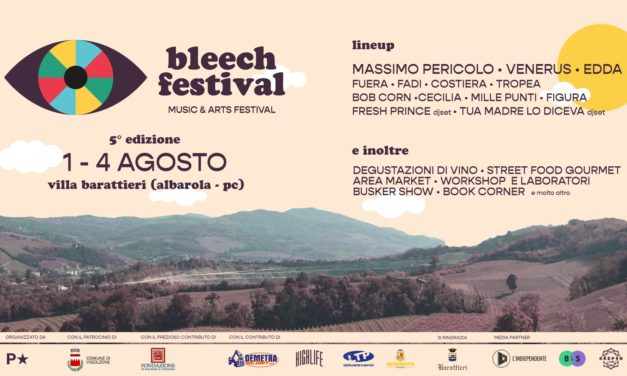 Al via Bleech Festival: musica e cultura immersi nella natura dei Colli Piacentini