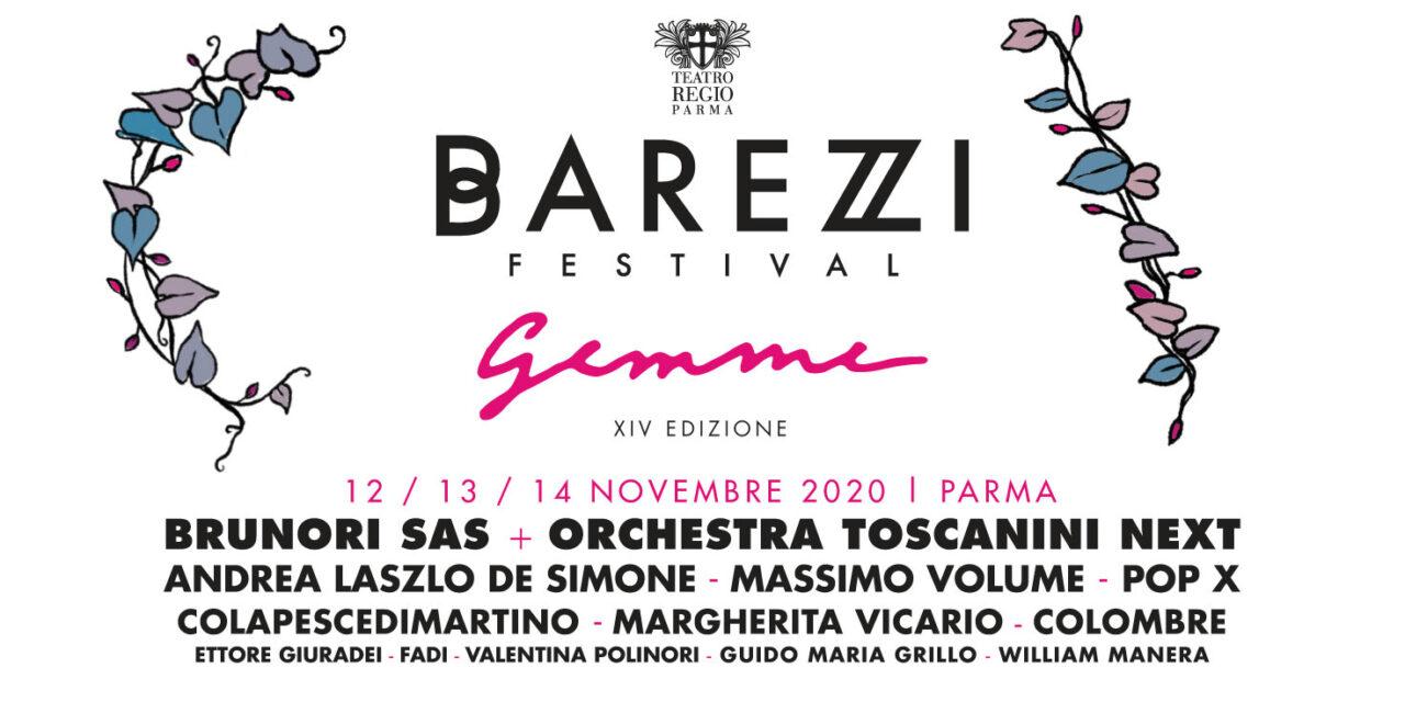 Barezzi Festival: scopri il programma con tutte le gemme dell'edizione 2020