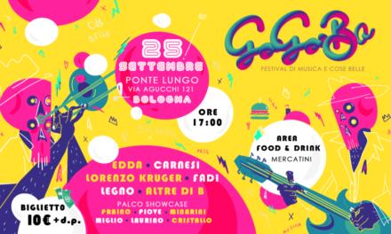 Pronti per la prima edizione del GoGoBo Festival?